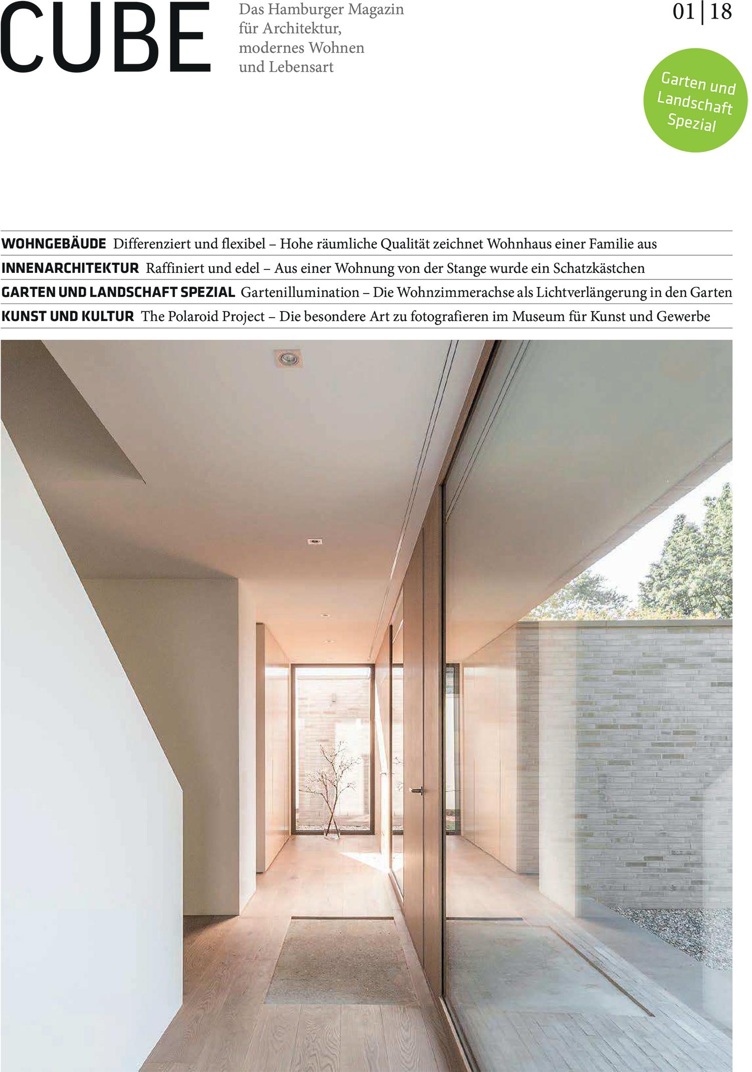 CUBE 1/2018 – RHWZ Architekten
